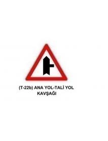 TT-22b Anayol - Taliyol Kavşağı Levhası