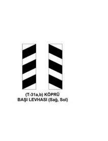 T-31a-b Köprü Başı (Sağ-Sol) Levhası