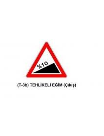 T-3b Tehlikeli Eğim (Çıkış) Levhası
