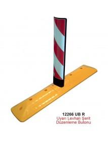 12266 UB R Uyarı Levhalı Şerit Düzenleme Butonu